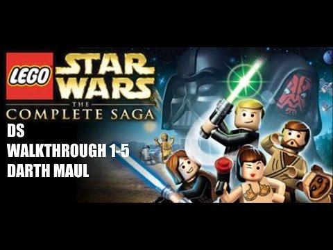 walkthrough: lego star wars: the complete saga nintendo ds