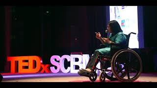 Changing the Paradigm of Disability | SRUTI MOHAPATRA | TEDxSCBMCH