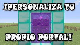 Como Personalizar Tu Propio Portal!! | Minecraft TU60-61 (Xbox360/One/Ps3/Ps4/Pc) BUG!!