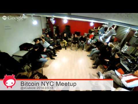 Bitcoin NYC Meetup 2014-03-18