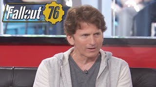 Todd Howard Says Fallout 76 Can't Be Played Offline, Has Modding, & Different Type Of Storytelling