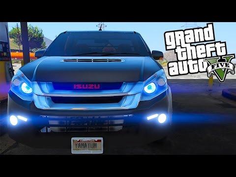 Yamatum O | GTA V : #142 แต่งรถกระบะแต่งซิ่ง isuzu D-Max