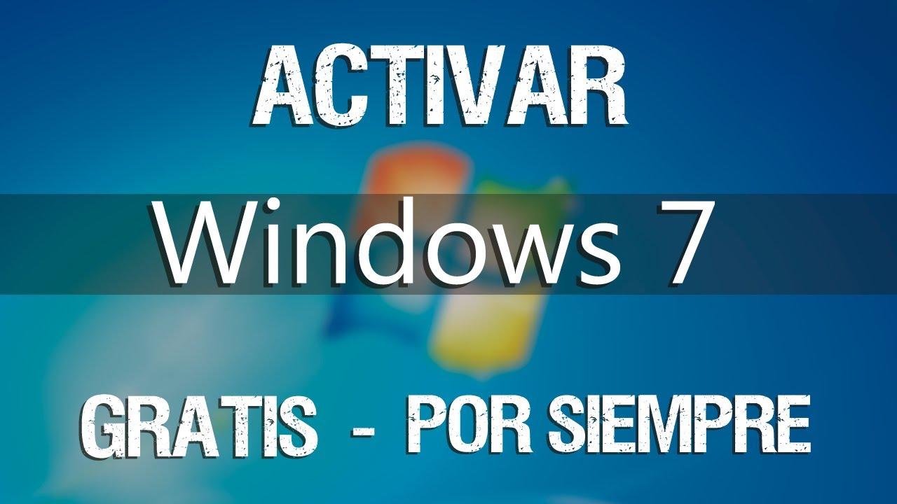 activar windows 7 2017