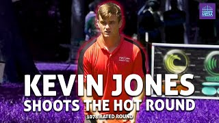 Kevin Jones Shoots the Hot Round 54(-10) at Northwood Gold (1078 RATED DISC GOLF ROUND)