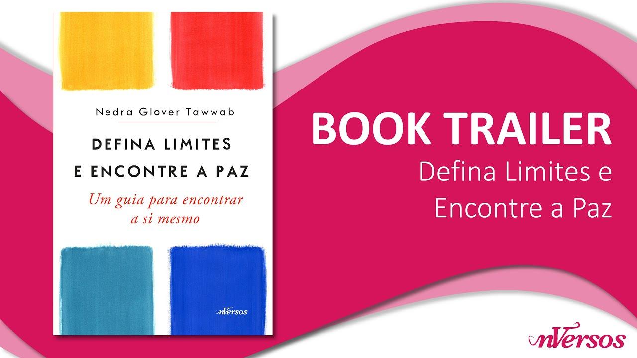 """Book Trailer """"Defina Limites e Encontre a Paz"""""""