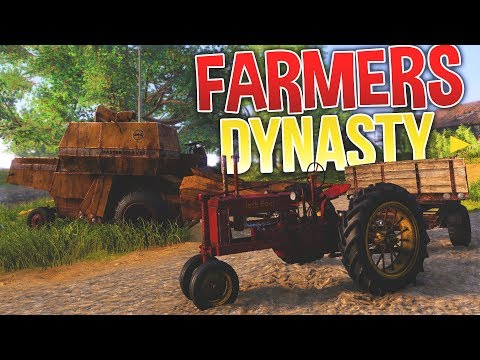 Farmers Dynasty - Hitting on Women & More Machinery! - Farmers Dynasty Gameplay Part 2