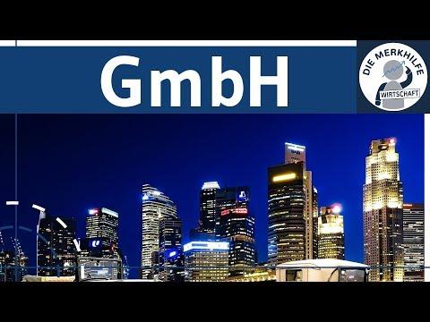 GmbH einfach erklärt - Gründung, Aufbau, Organe, Haftung, Kapital & Finanzierung - Rechtsformen