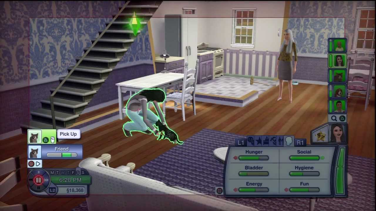 How to get a baby girl on sims 3 ps3
