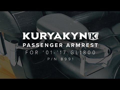 Kuryakyn Passenger Armrest for '01-'17 GL1800