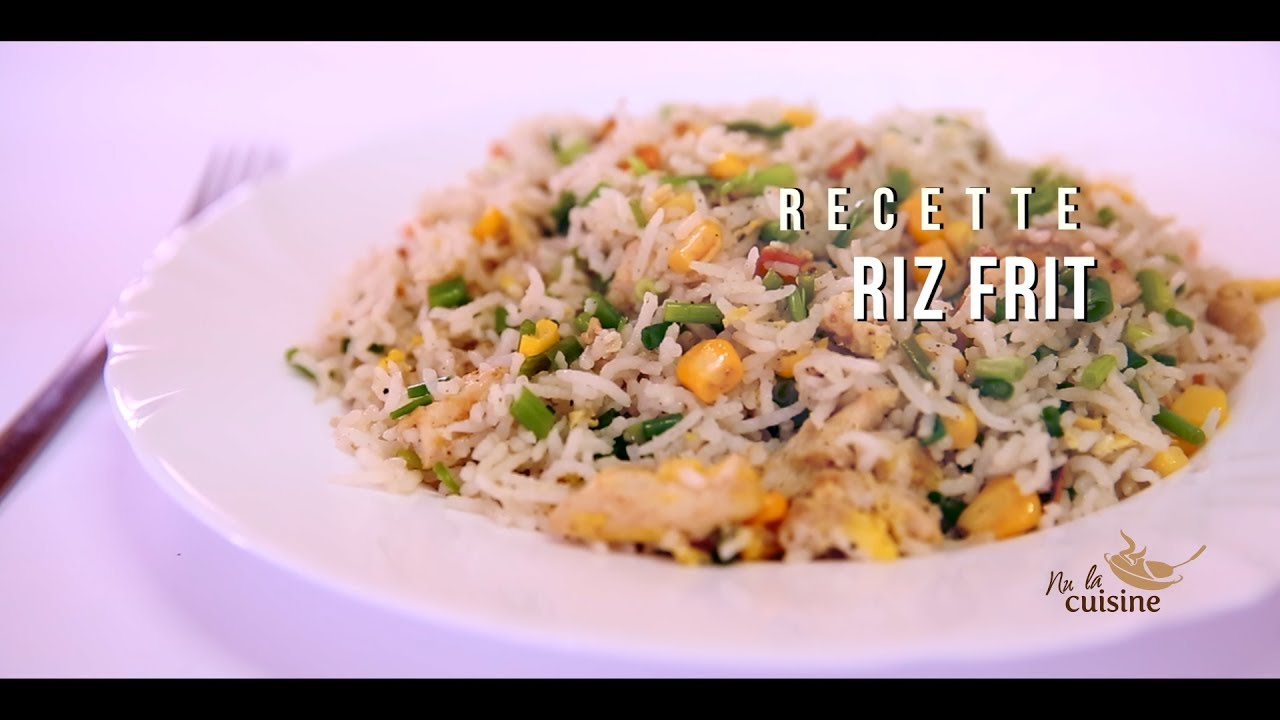 RIZ FRIT - YouTube Cuisiner Le Vrai Riz Frit Chinois on