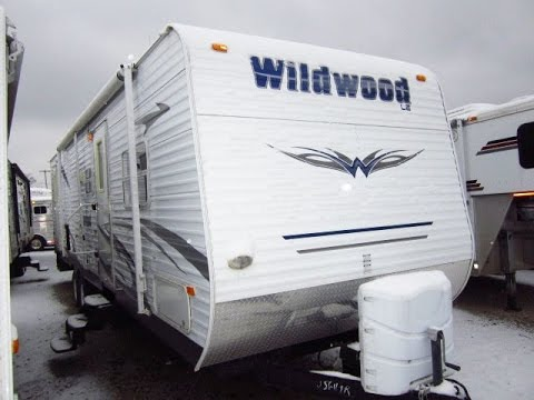Grey Wolf Rv >> HaylettRV.com - 2009 Wildwood LE 29BHBS Used Bunkhouse Travel Trailer by Forest River RV - YouTube