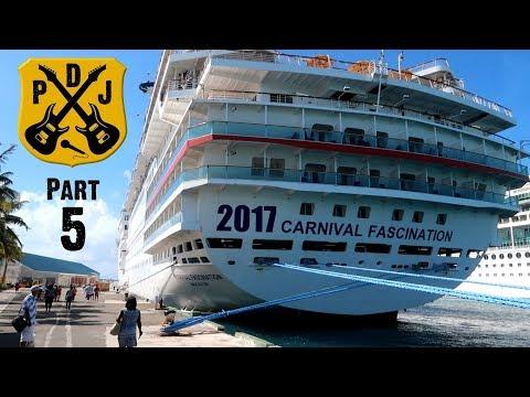 Carnival Fascination Cruise Vlog 2017 - Part 5: Nassau - Atlantis Dolphin Encounter - ParoDeeJay