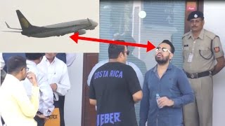 Salman Khan Bodyguard Shera & His Team Waiting To Pickup JUSTIN BEIBER