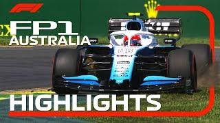 2019 Australian Grand Prix: FP1 Highlights