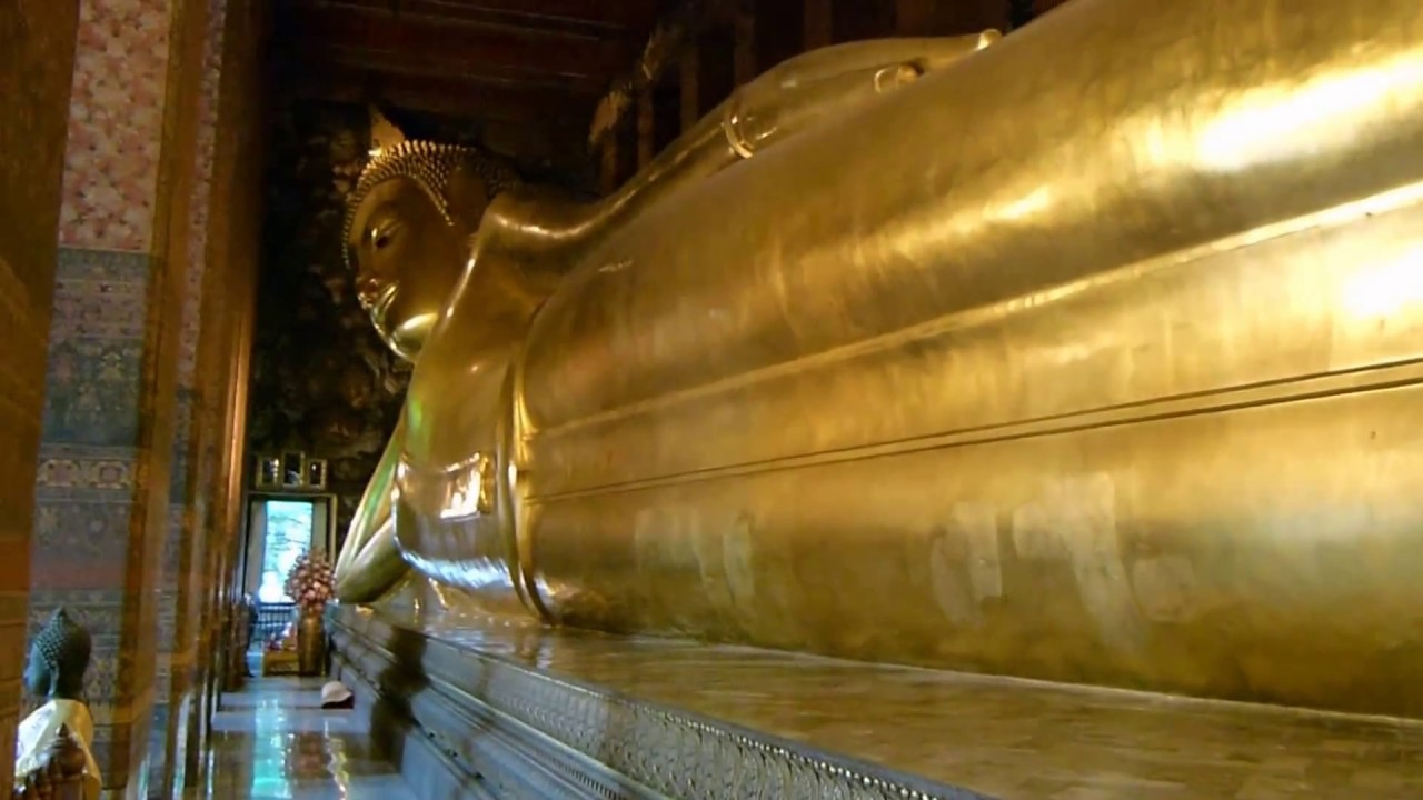 The Giant Reclining Golden Buddha of Wat Pho & The Giant Reclining Golden Buddha of Wat Pho - YouTube islam-shia.org