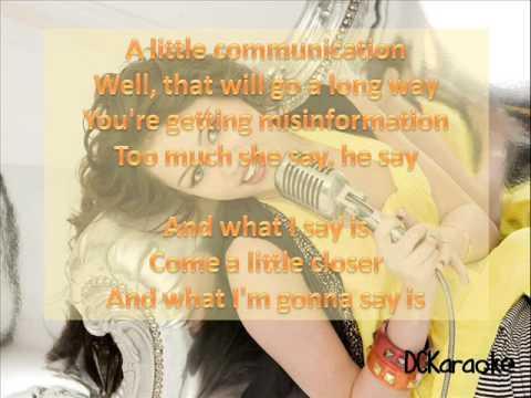 Miley Cyrus - Fly On The Wall (Instrumental Karaoke w/Lyrics on screen) HQ