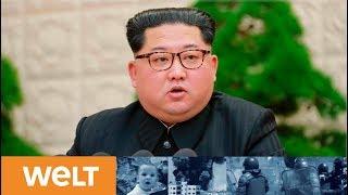 Sensationelle Wende: Nordkorea will Atom- und Raketentests komplett einstellen