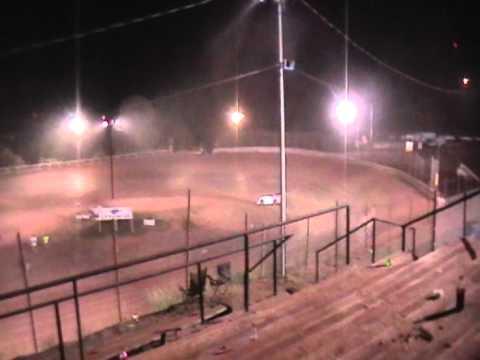 Bobby's practice in Ripley, WV @ I-77 Speedway