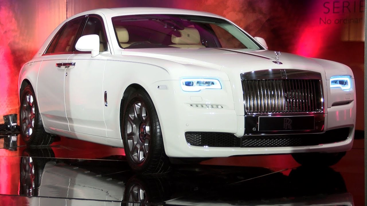 new car launches in chennaiThe Ultimate Luxury Car RollsRoyce Ghost Series ll Launched In
