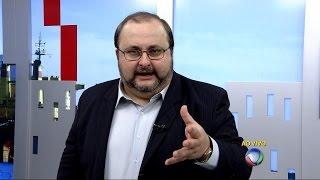 Balanço Geral Record falando sobre Chris Leão.
