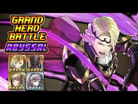 [F2P] ABYSSAL Xander Grand Hero Battle (No Skill Inheritance) | Fire Emblem  Heroes