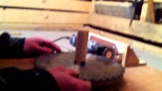 Circular Saw Blade Sharpening With A Dremel