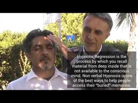 Instant Hypnosis induction & Regression.  Mesmerism/magnetism deep sleep techniques. NON VERBAL