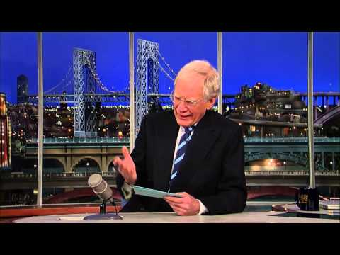 David Letterman   Dave on Jay Leno, Jimmy Fallon &  Tonight Show