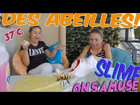 Download les abeilles nous attaquent, on s'amuse avec du slime/comment faire/mlle Sabina