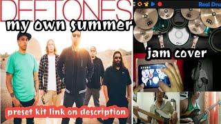 Deftones-My Own Summer (Jam Cover) #Deftones #TUGSTUPAKK #RealDrum