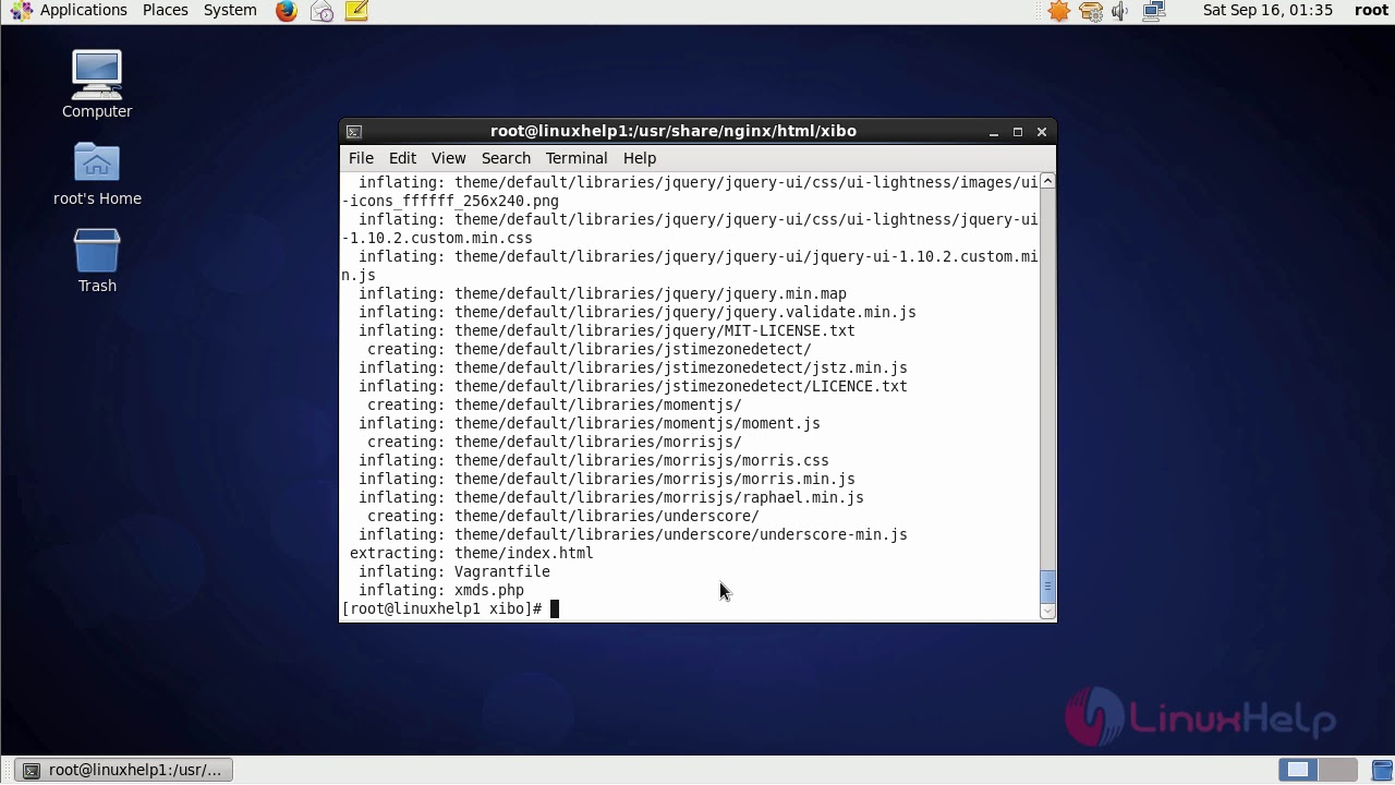 How to install Xibo CMS with Nginx on CentOS 6 9
