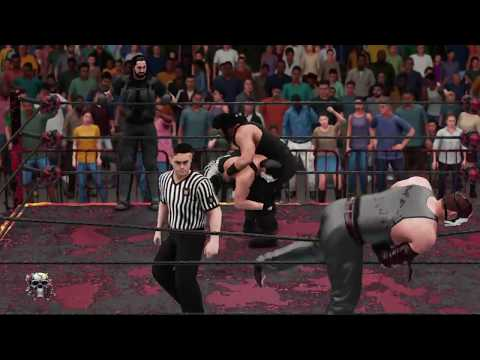 WWE 2K18 the shield v the main event mafia