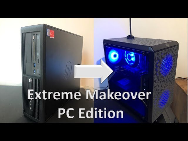 Micro Atx Gaming Pc Build Hp Compaq Elite 8300 Sff I7 3770 And Gtx 1050 Gets A Makeover Youtube