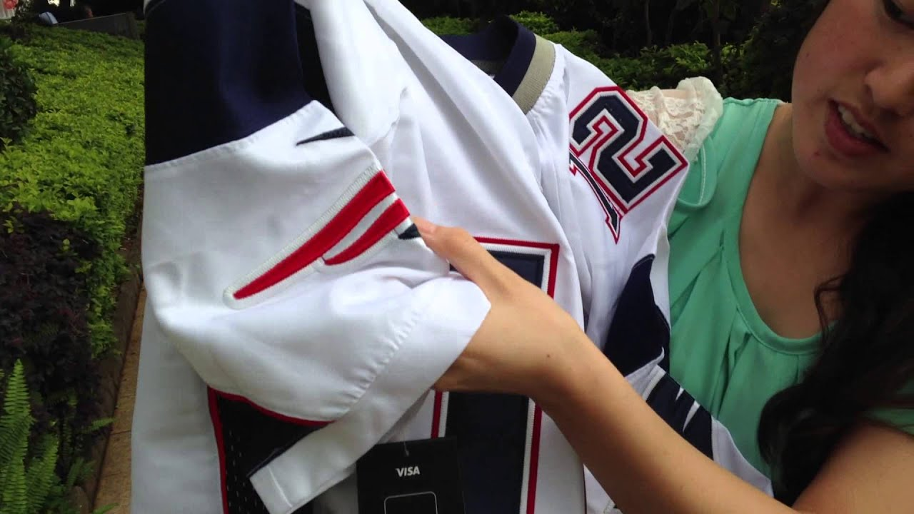 tom brady jersey men white