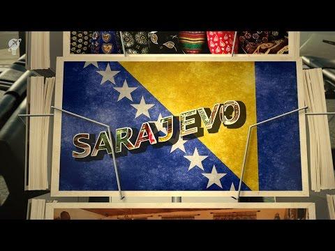 postcards Sarajevo Bosnia and Herzegovina
