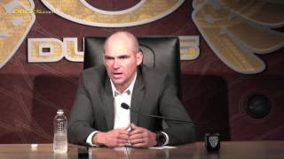 Helfrich Reviews the Season Following Civil War