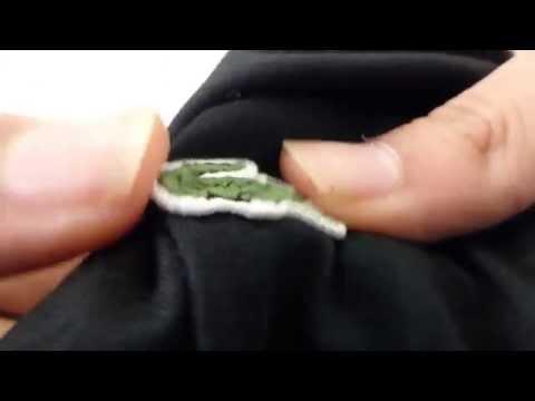 Lacoste Tshirt Black Original - Unboxing [Full HD]