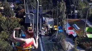 🚡🚡 Зоопарк в Праге, Чехия. Спуск с горы по фуникулёру (Lanovka Zoo Prague) 🇨🇿