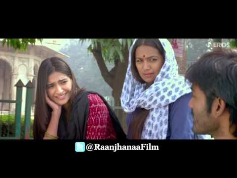 Raanjhanaa Movie Trailer HD