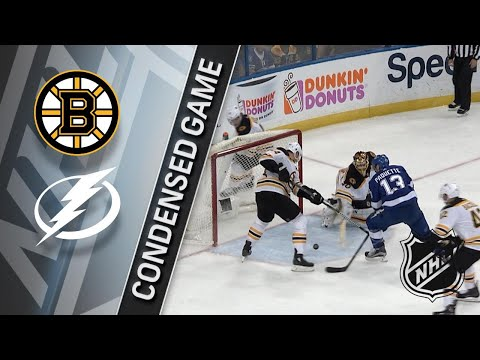 04/03/18 Condensed Game: Bruins @ Lightning