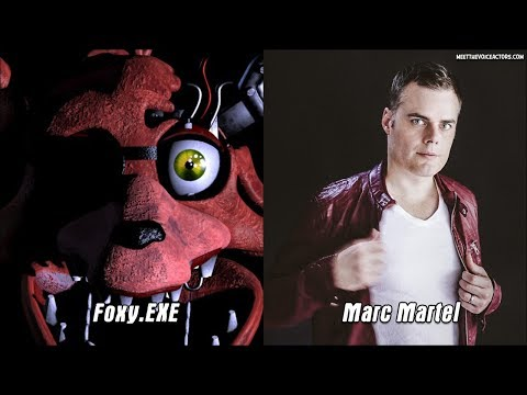 Five Nights at Freddy's World Characters Voice Actors