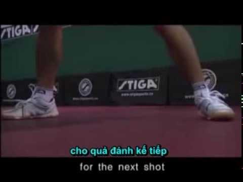 Tập luyện các kỹ năng BB với các tuyển thủ TQ Phần V Trả giao bóng trái tay Phụ đề tiếng Việt