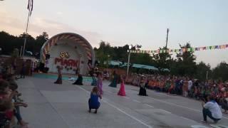 Восточные танцы для детей в Запорожье. Bellydance-mix. Тренер - Наталья Гончарова.