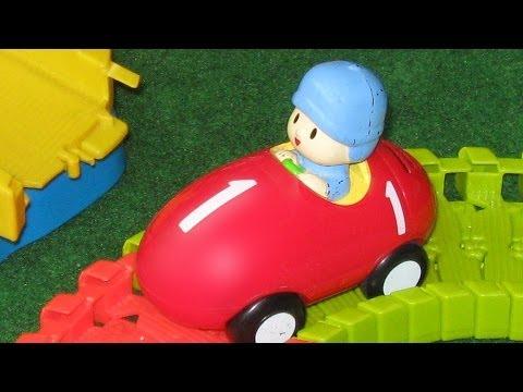 Pocoyo Super Race Circuit Bandai - Juguetes de Pocoyo