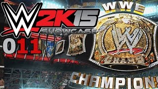 WWE 2K15 SHOWCASE #011: CM Punk vs. Big Show vs. John Cena «» Let