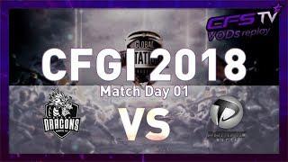 [CFGI 2018: Day 1] Black Dragons vs Pacific Macta