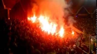 Górnik Zabrze - Arka Gdynia - Oprawa na REMES CUP EXTRA 2010