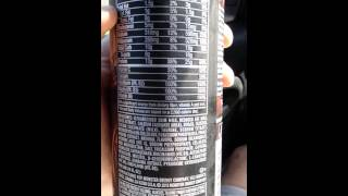 My Review of Monster Muscle Energy Drink