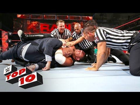 Thumbnail: Top 10 Raw moments: WWE Top 10, June 5, 2017