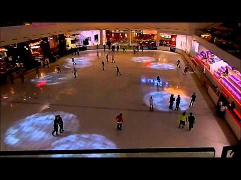 JCube Ice Skating Rink at Jurong East, Singapore